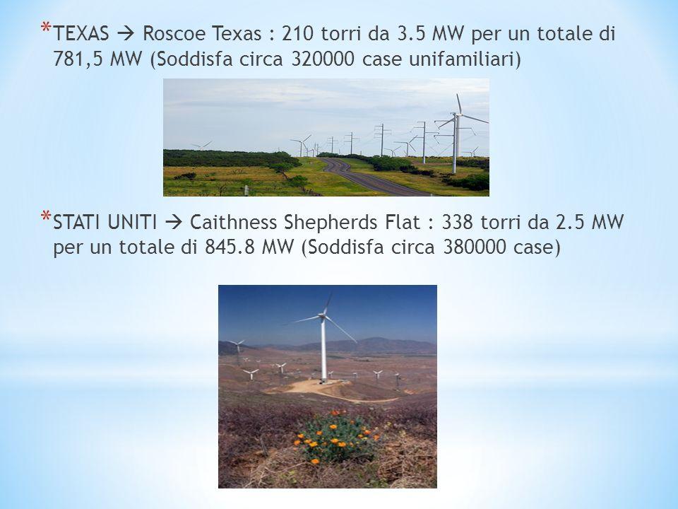 TEXAS  Roscoe Texas : 210 torri da 3