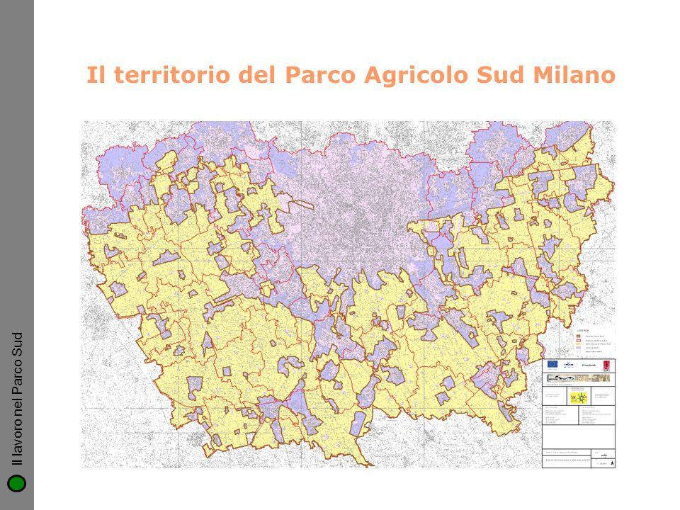 Il territorio del Parco Agricolo Sud Milano