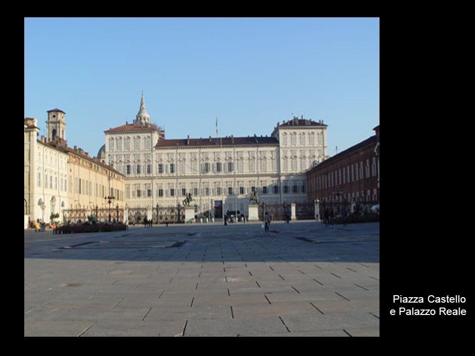 Piazza Castello e Palazzo Reale