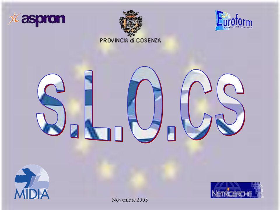 S.L.O.CS Novembre 2003