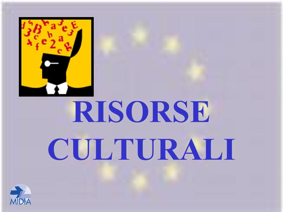RISORSE CULTURALI