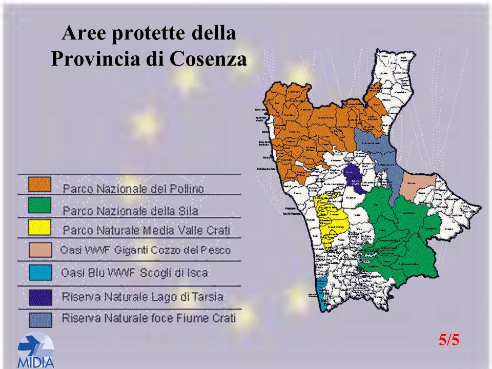 Aree protette della Provincia di Cosenza