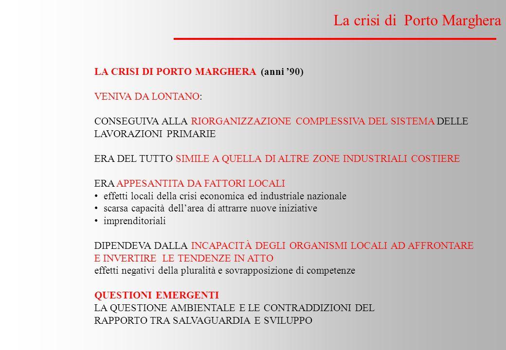 La crisi di Porto Marghera