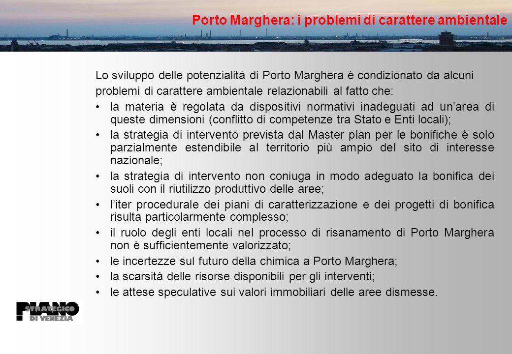 Porto Marghera: i problemi di carattere ambientale