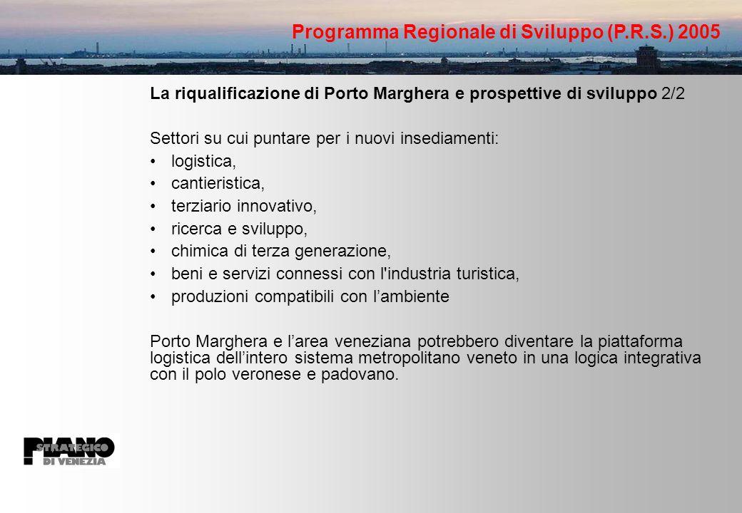 Programma Regionale di Sviluppo (P.R.S.) 2005