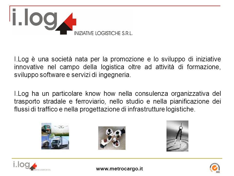 I.Log è una società nata per la promozione e lo sviluppo di iniziative innovative nel campo della logistica oltre ad attività di formazione, sviluppo software e servizi di ingegneria.