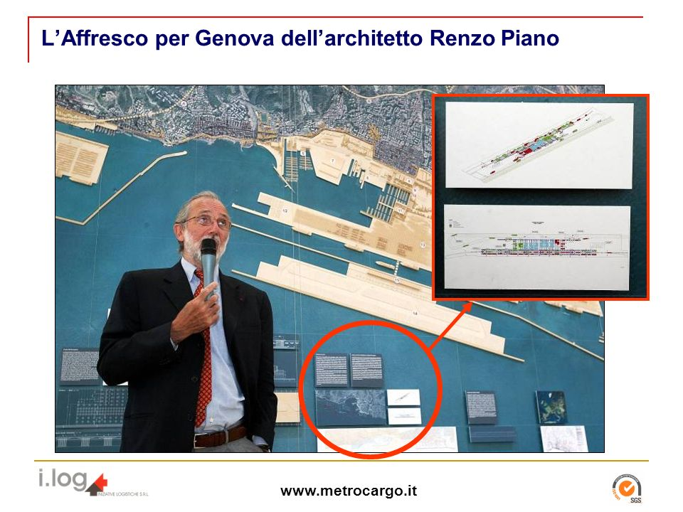 L'Affresco per Genova dell'architetto Renzo Piano