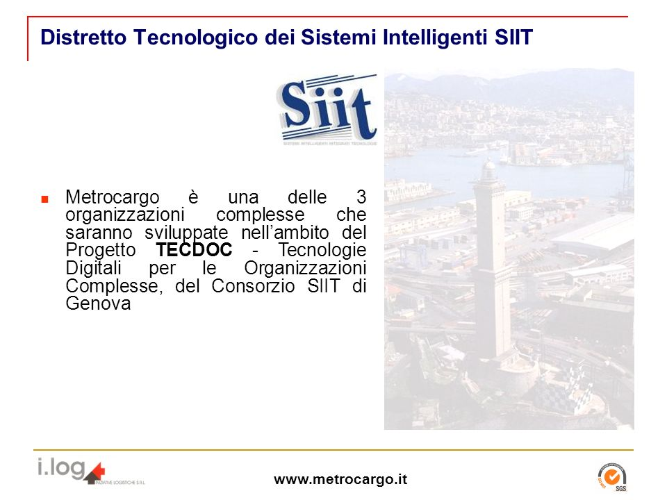 Distretto Tecnologico dei Sistemi Intelligenti SIIT
