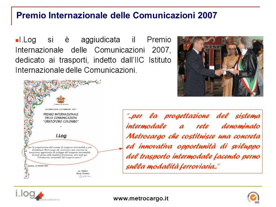Premio Internazionale delle Comunicazioni 2007