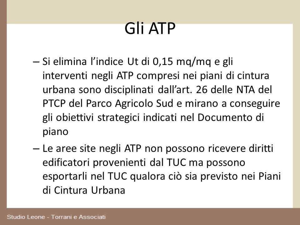 Gli ATP
