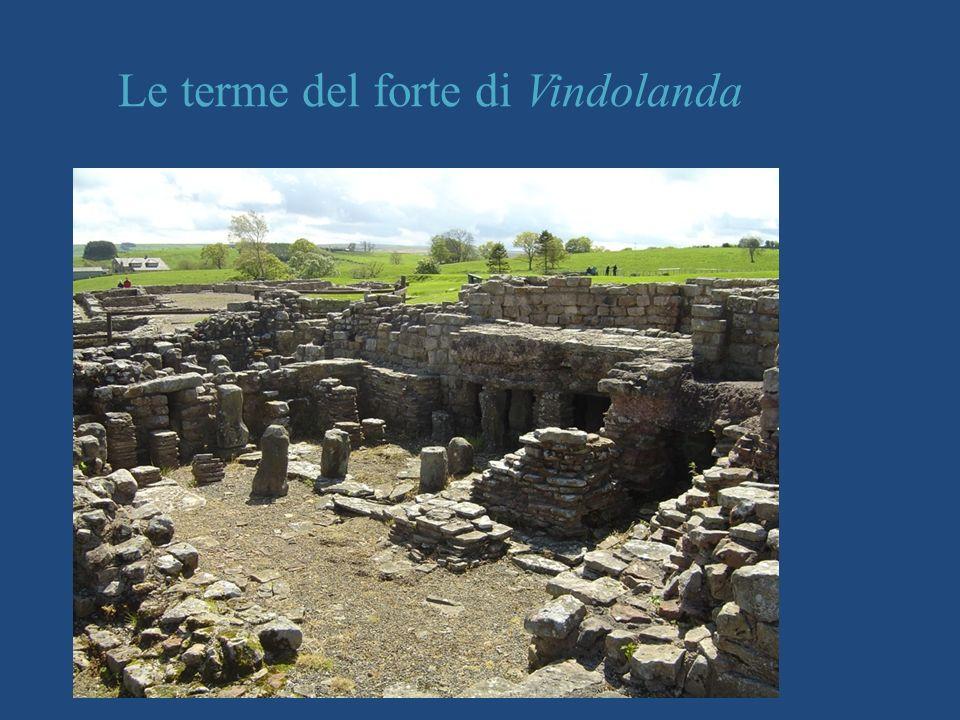Le terme del forte di Vindolanda