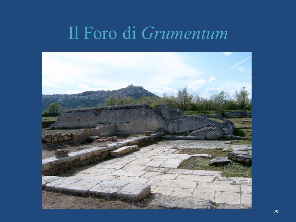 Il Foro di Grumentum