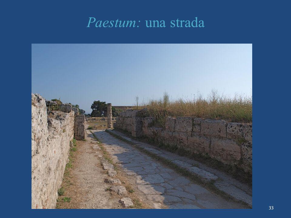 Paestum: una strada