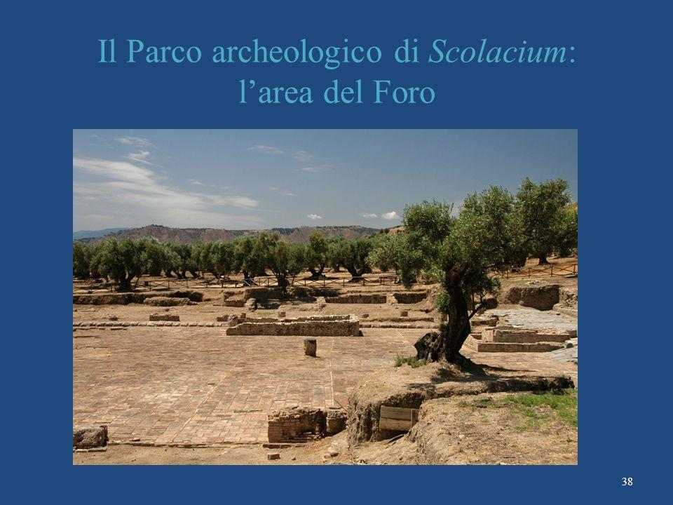 Il Parco archeologico di Scolacium: l'area del Foro