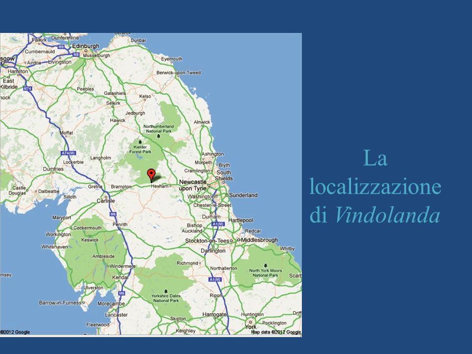 La localizzazione di Vindolanda