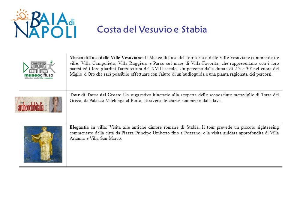 Costa del Vesuvio e Stabia