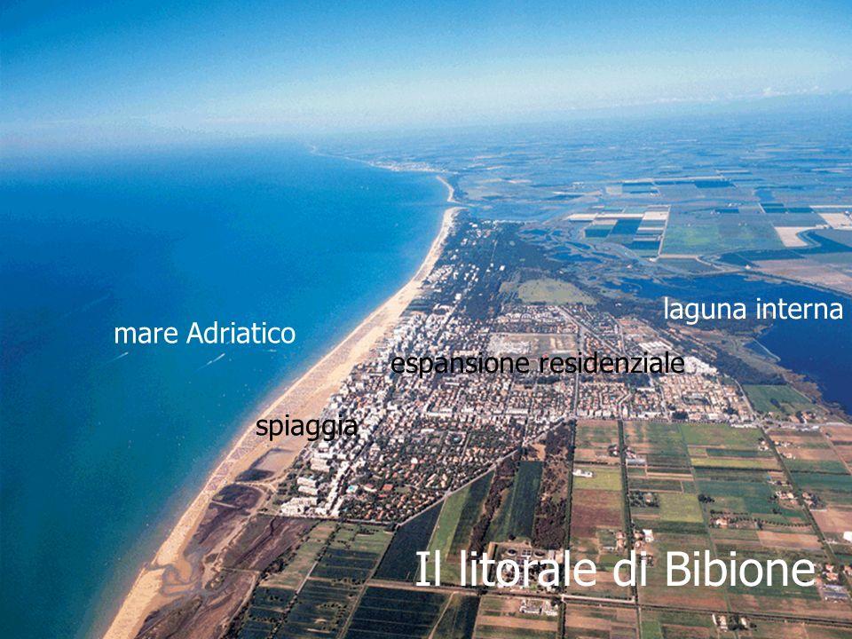 Il litorale di Bibione laguna interna mare Adriatico