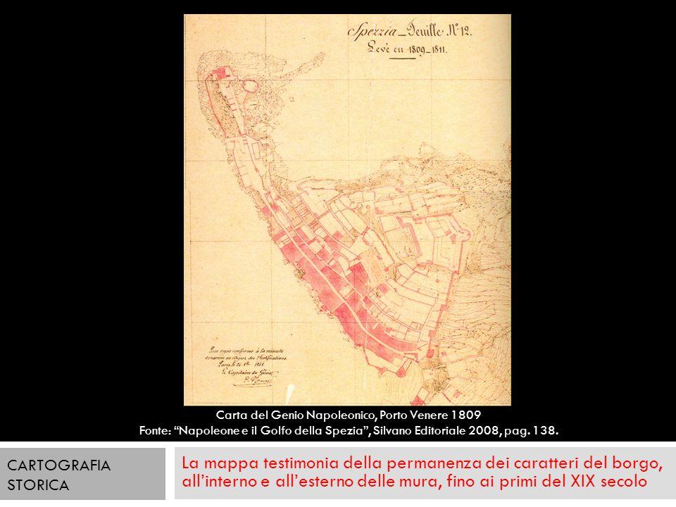 Carta del Genio Napoleonico, Porto Venere 1809