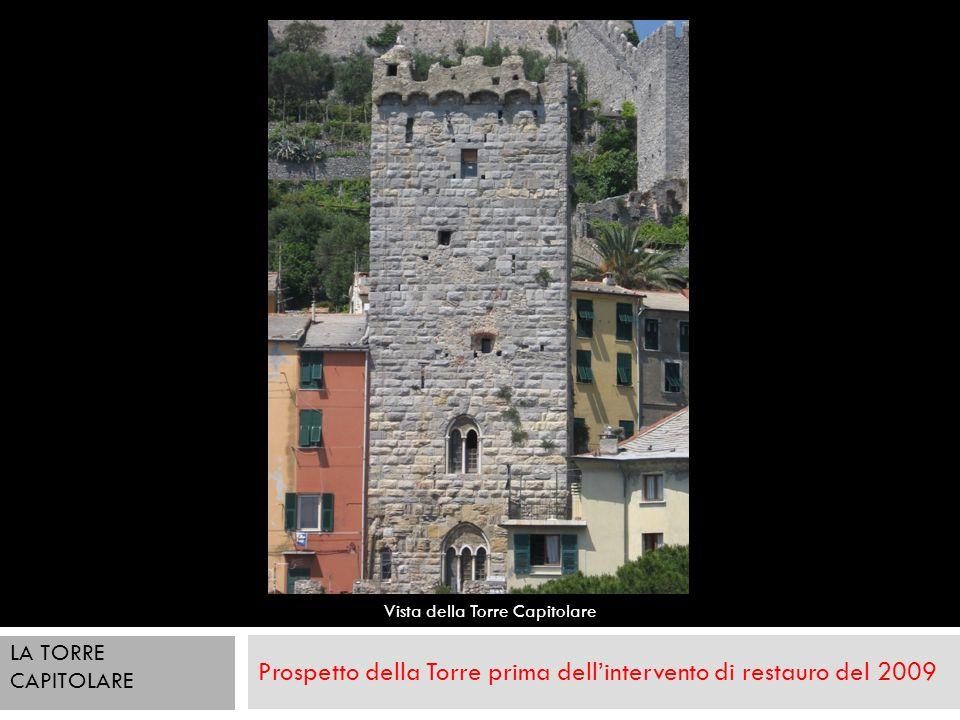 Prospetto della Torre prima dell'intervento di restauro del 2009