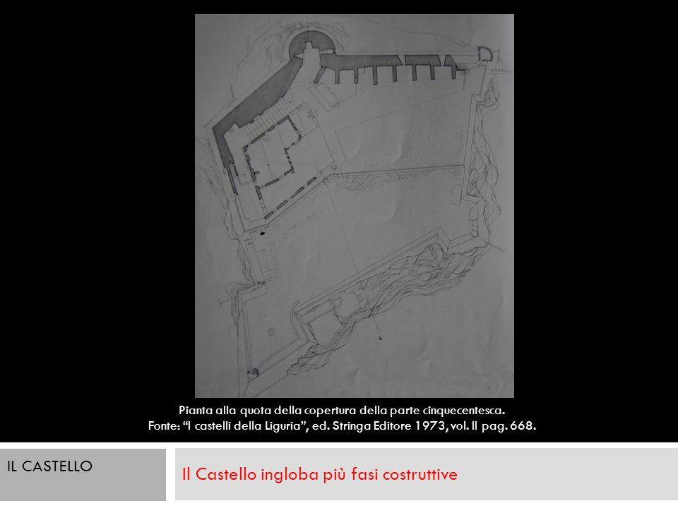 Il Castello ingloba più fasi costruttive