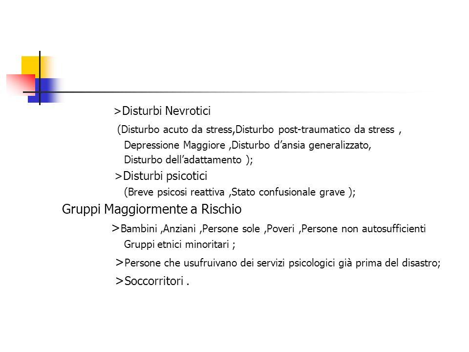 >Disturbi Nevrotici