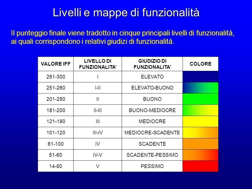 Livelli e mappe di funzionalità