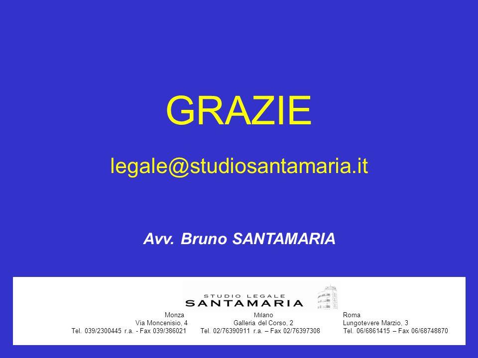 Via Moncenisio, 4 Galleria del Corso, 2 Lungotevere Marzio, 3