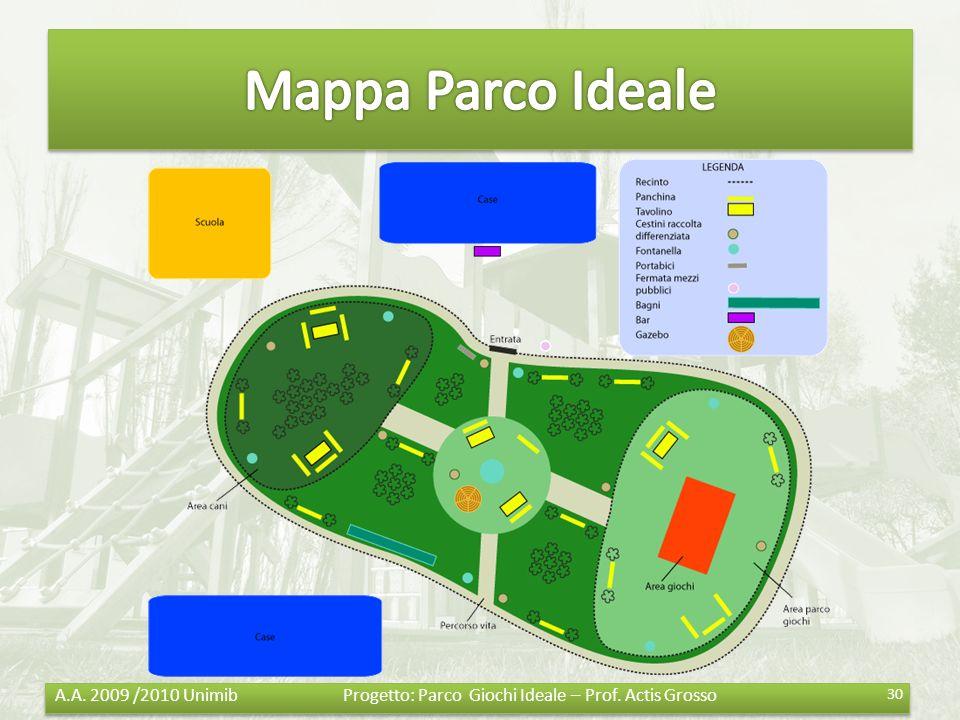 Mappa Parco Ideale
