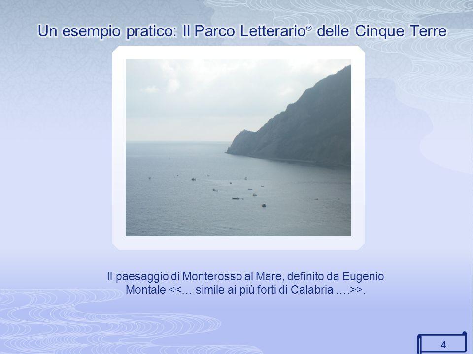 Un esempio pratico: Il Parco Letterario® delle Cinque Terre