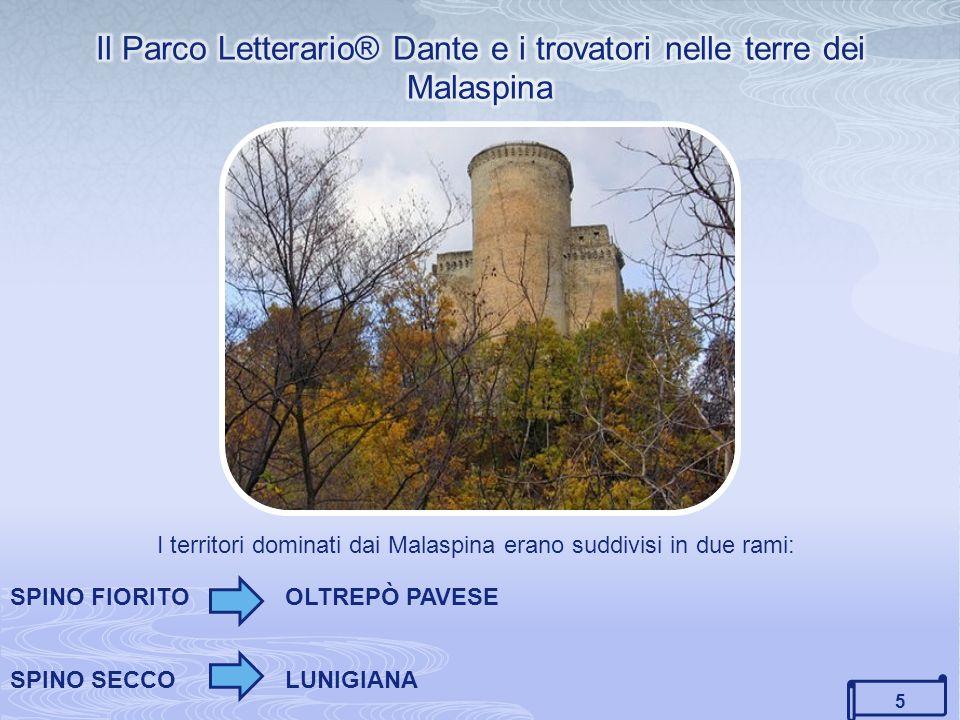 Il Parco Letterario® Dante e i trovatori nelle terre dei Malaspina