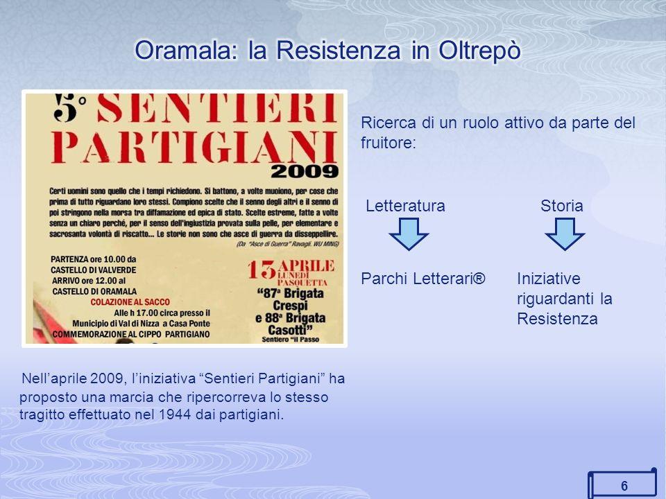 Oramala: la Resistenza in Oltrepò