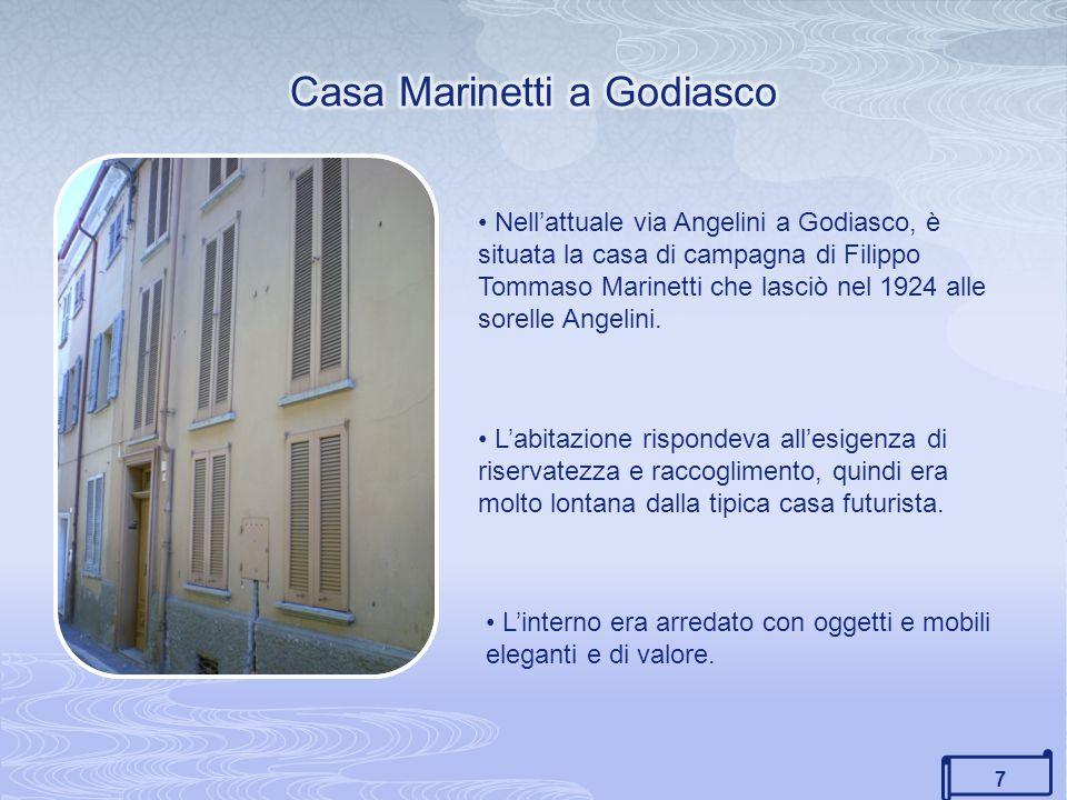 Casa Marinetti a Godiasco