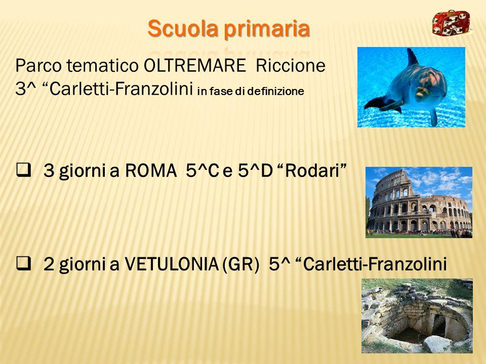 Scuola primaria Parco tematico OLTREMARE Riccione
