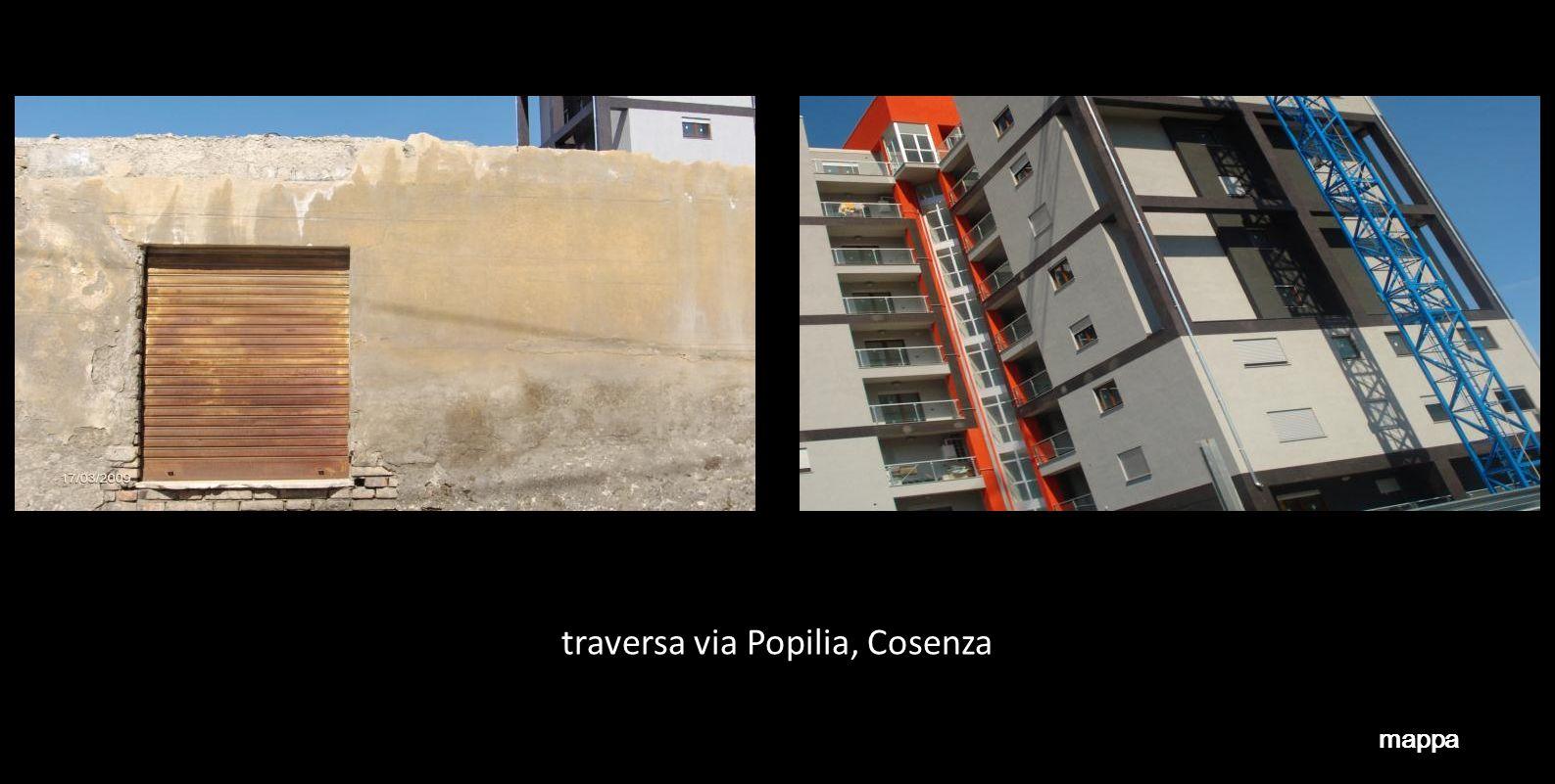 traversa via Popilia, Cosenza