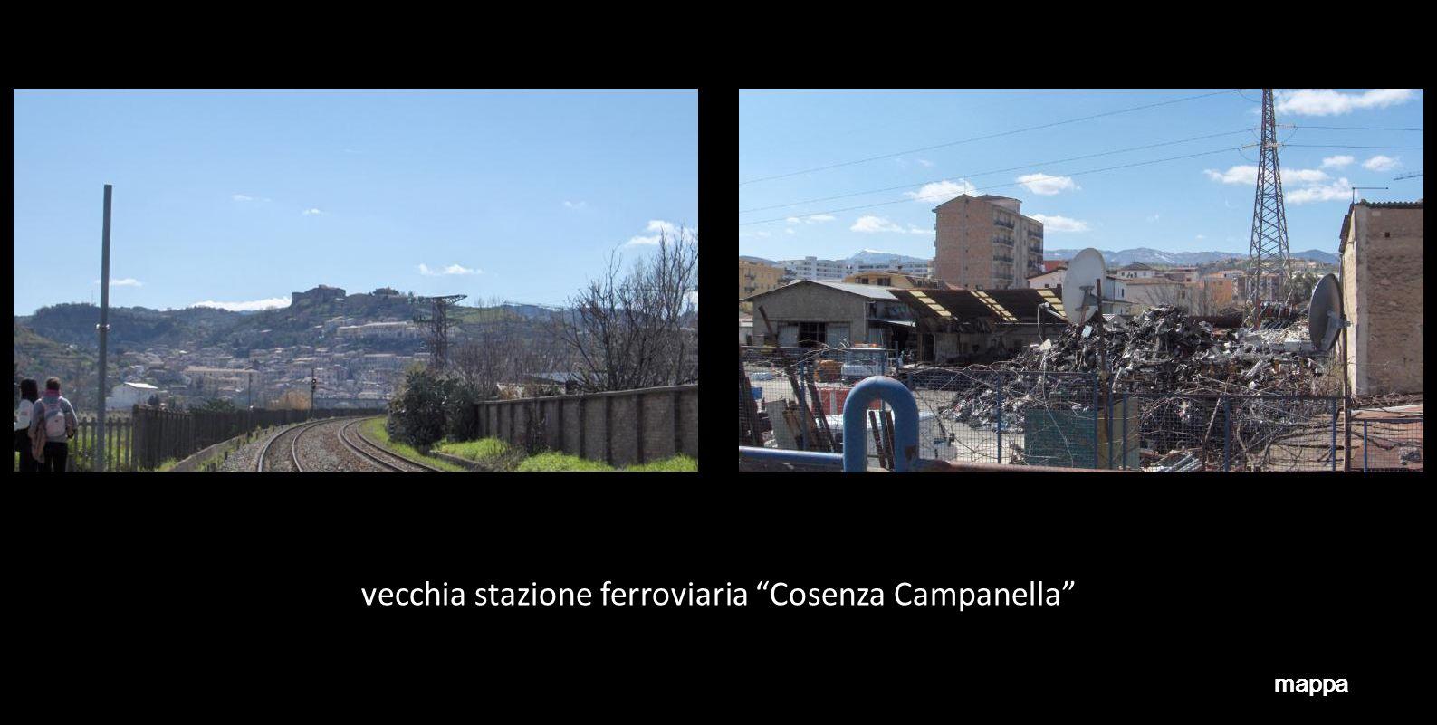 vecchia stazione ferroviaria Cosenza Campanella