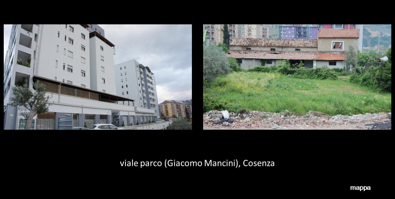 viale parco (Giacomo Mancini), Cosenza