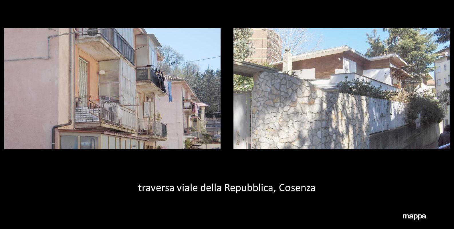 traversa viale della Repubblica, Cosenza