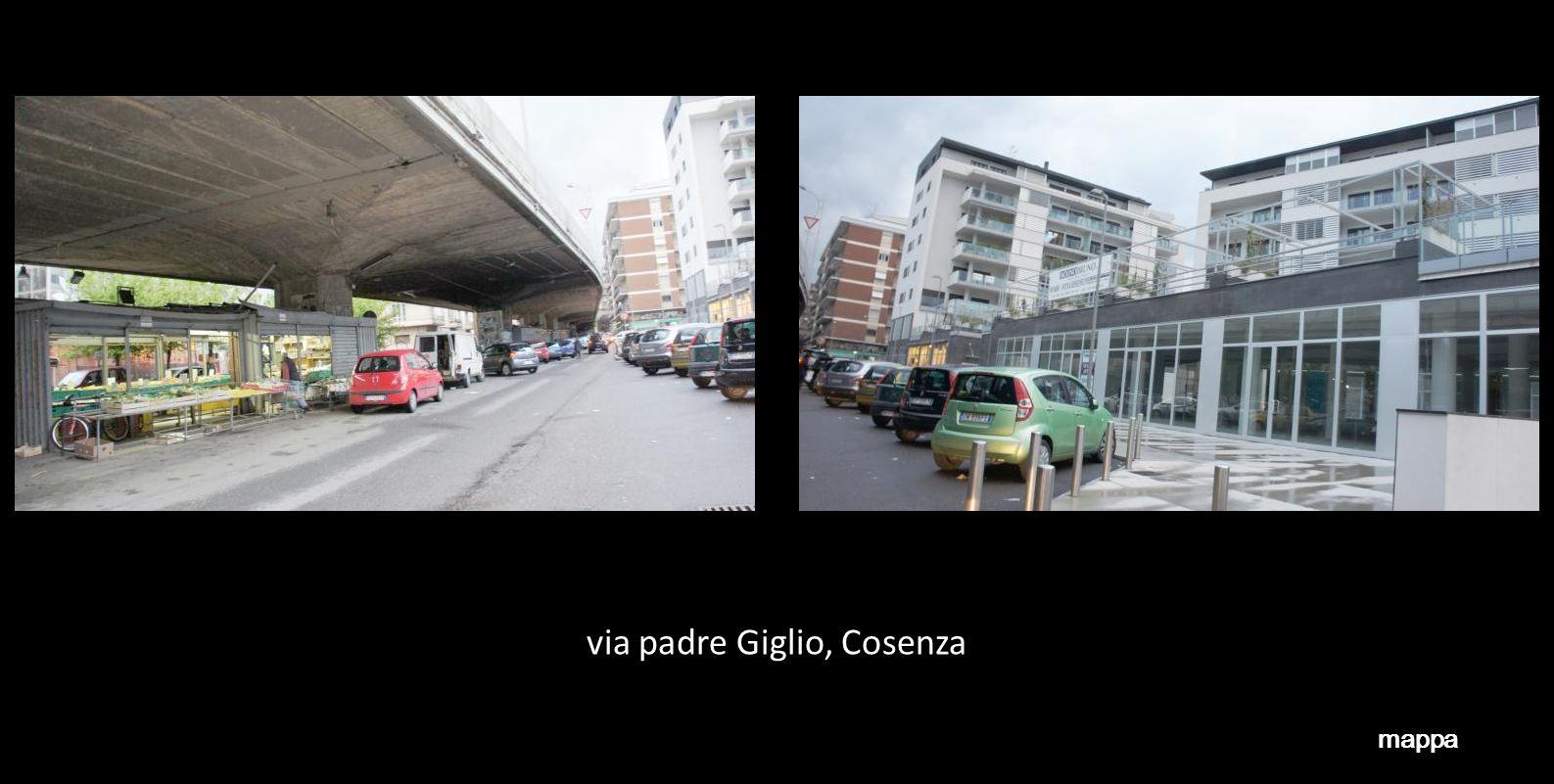 via padre Giglio, Cosenza