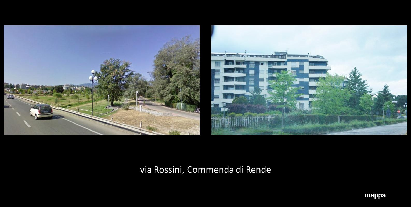 via Rossini, Commenda di Rende
