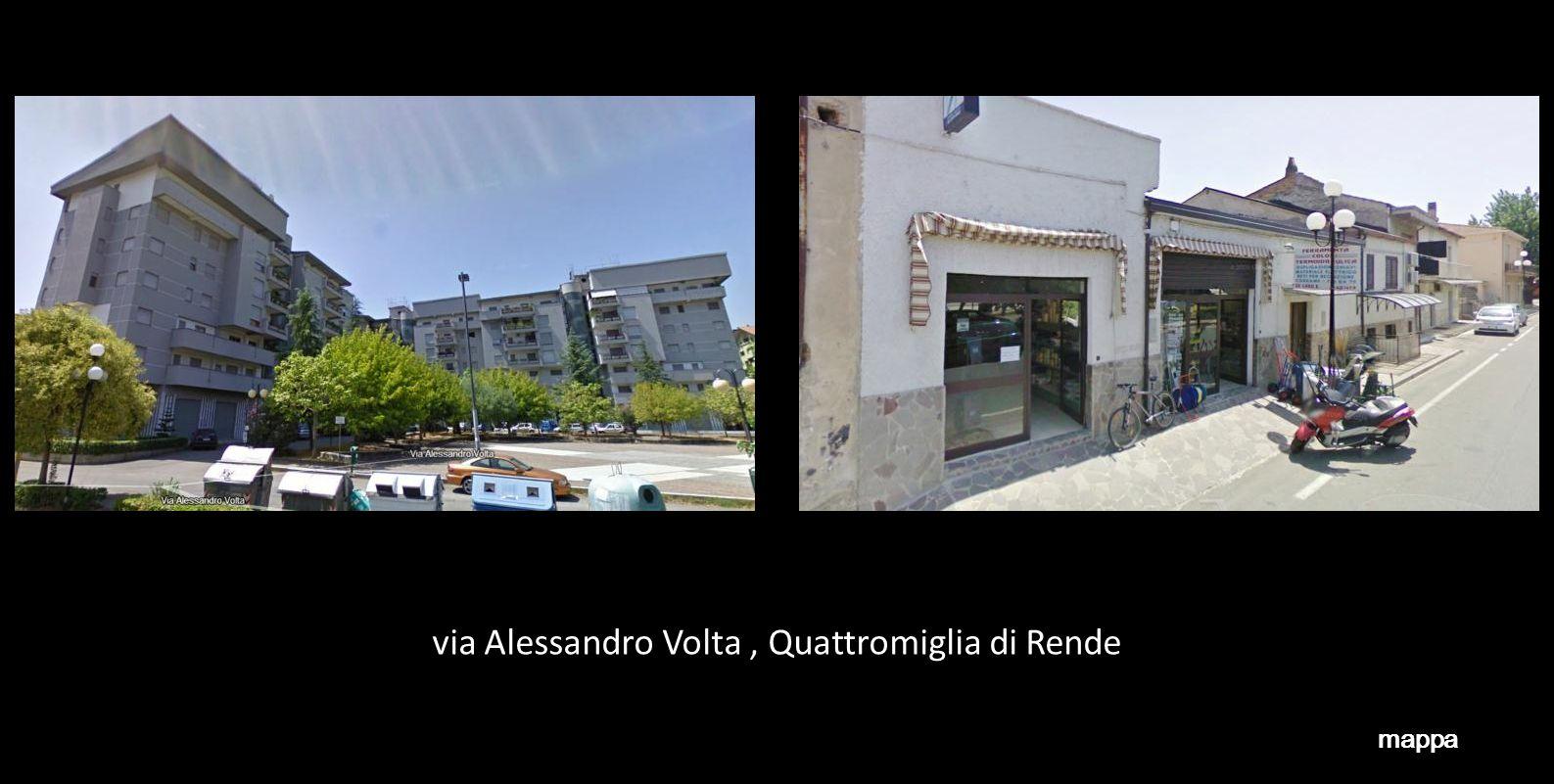 via Alessandro Volta , Quattromiglia di Rende