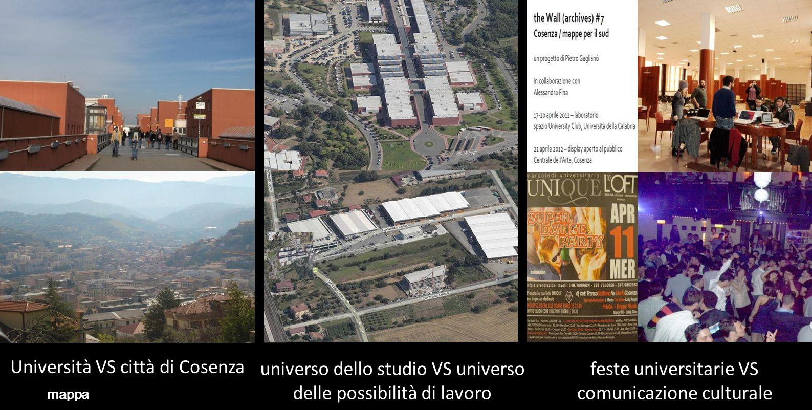 Università VS città di Cosenza