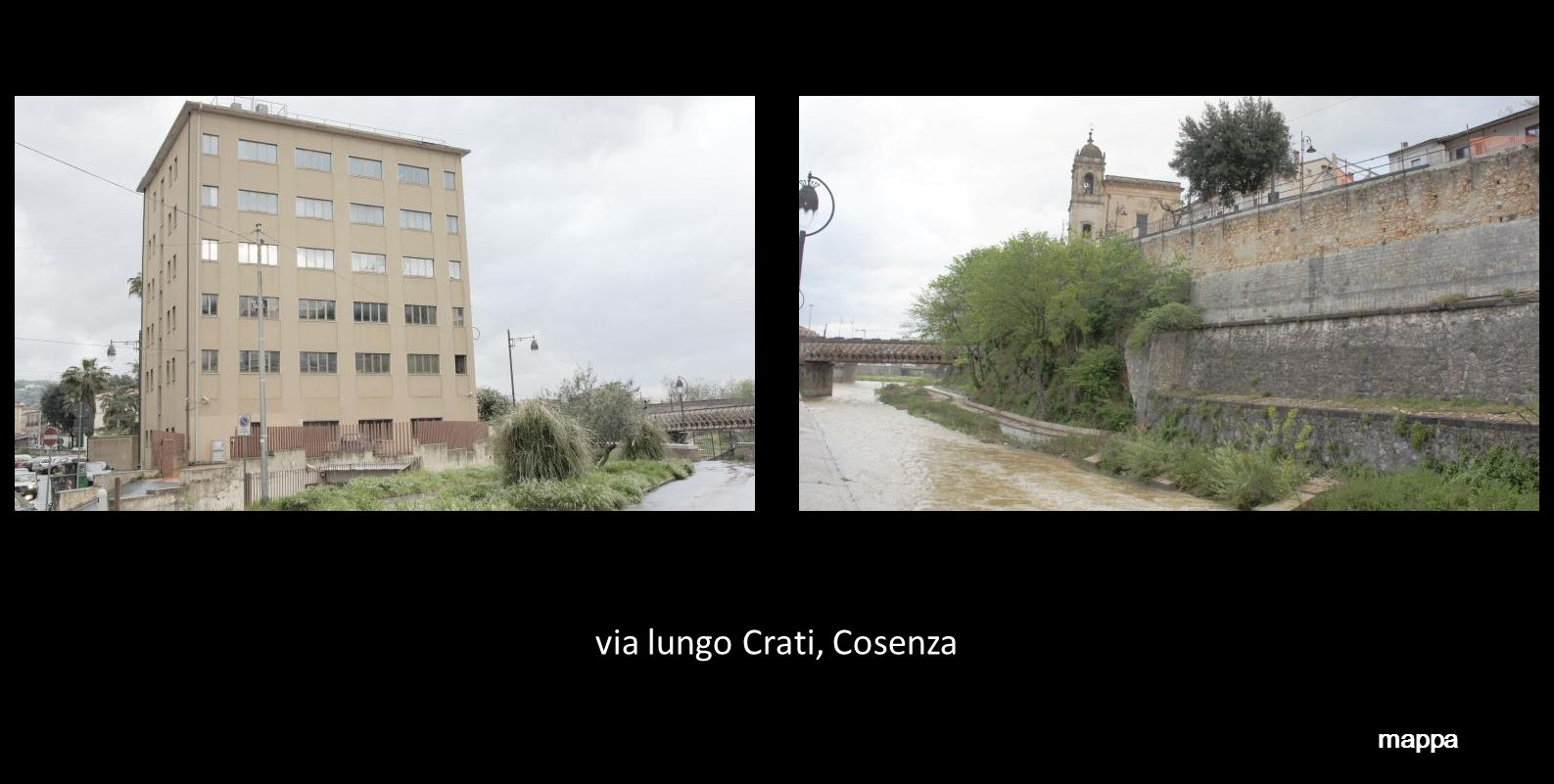 via lungo Crati, Cosenza