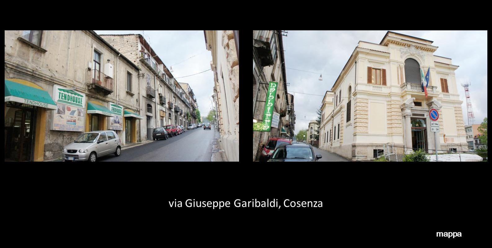 via Giuseppe Garibaldi, Cosenza