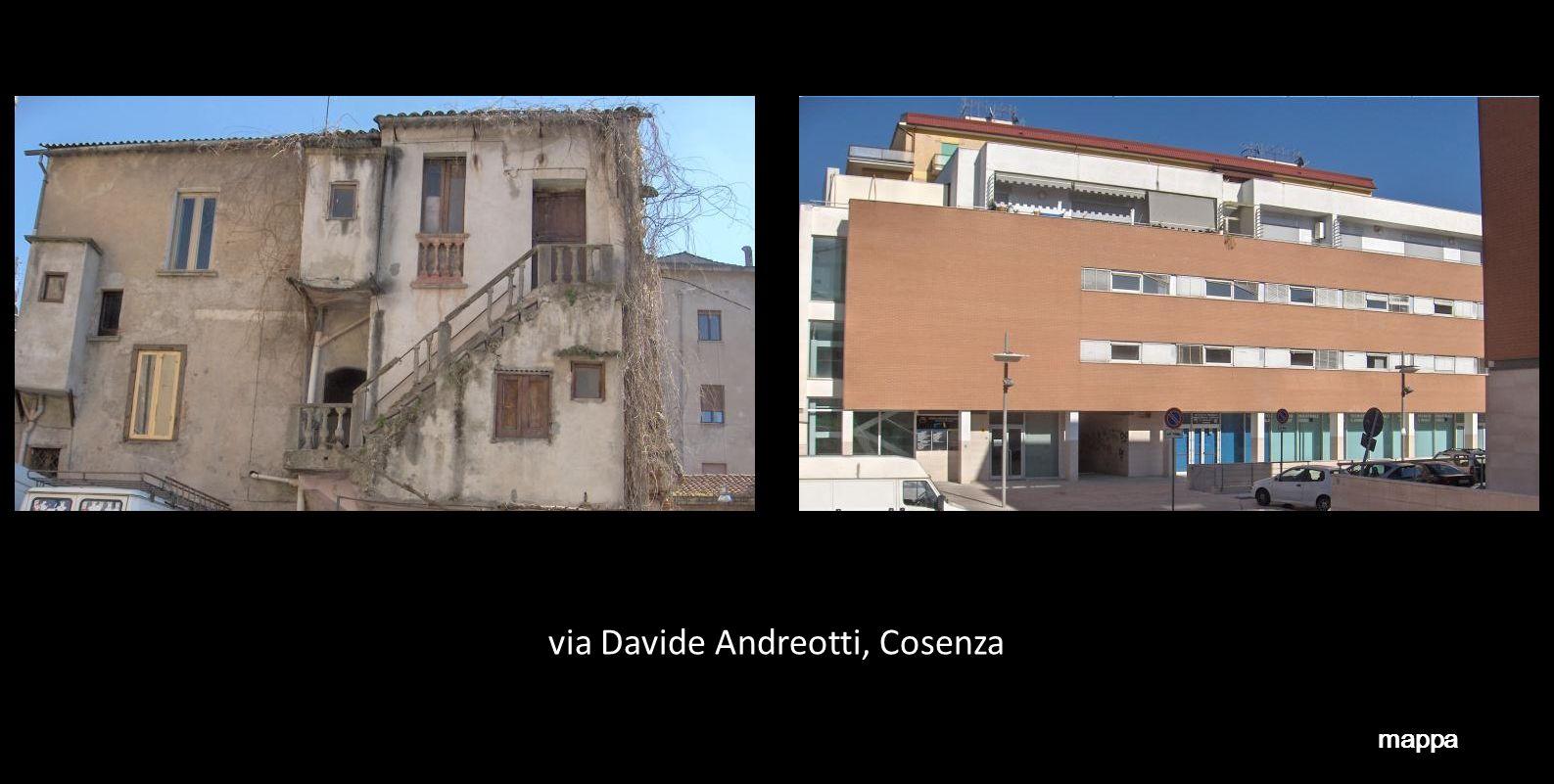 via Davide Andreotti, Cosenza