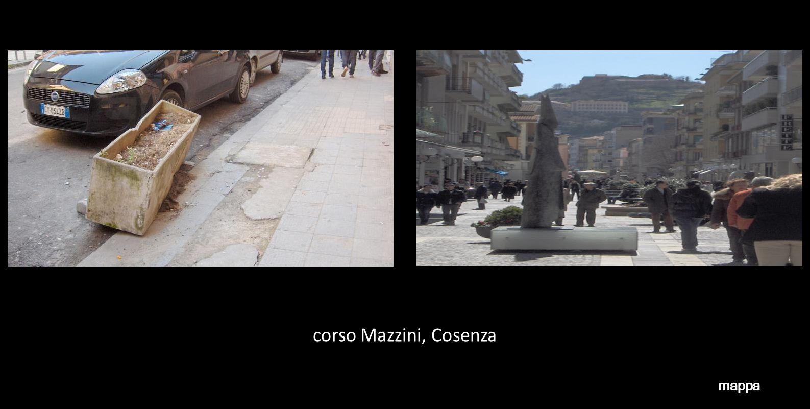 corso Mazzini, Cosenza mappa