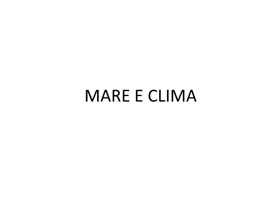 MARE E CLIMA