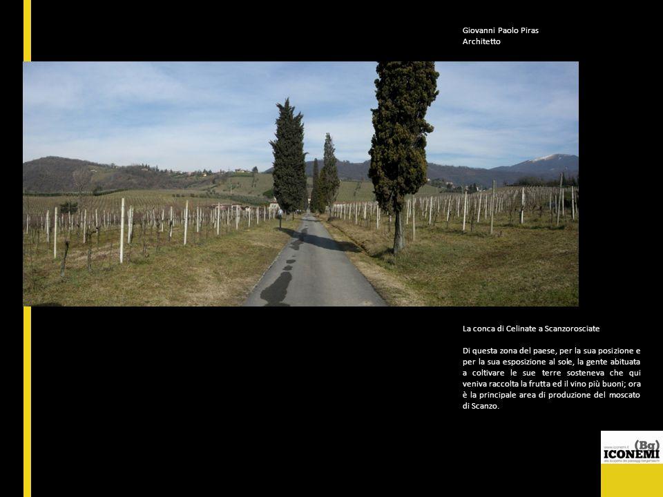 Giovanni Paolo Piras Architetto. La conca di Celinate a Scanzorosciate.