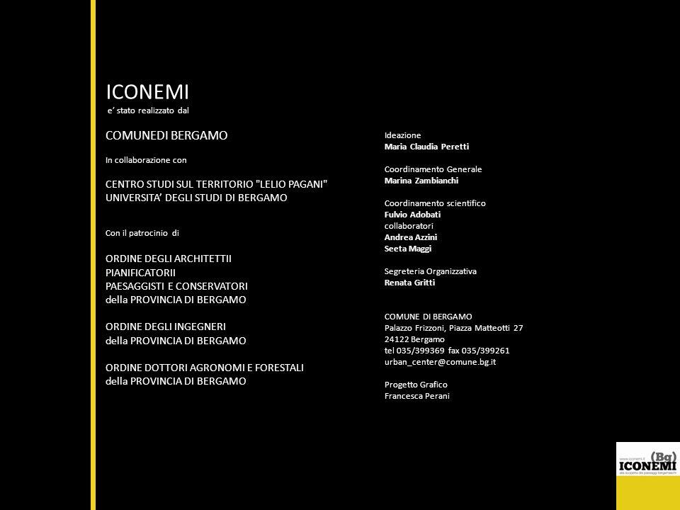 ICONEMI COMUNEDI BERGAMO CENTRO STUDI SUL TERRITORIO LELIO PAGANI