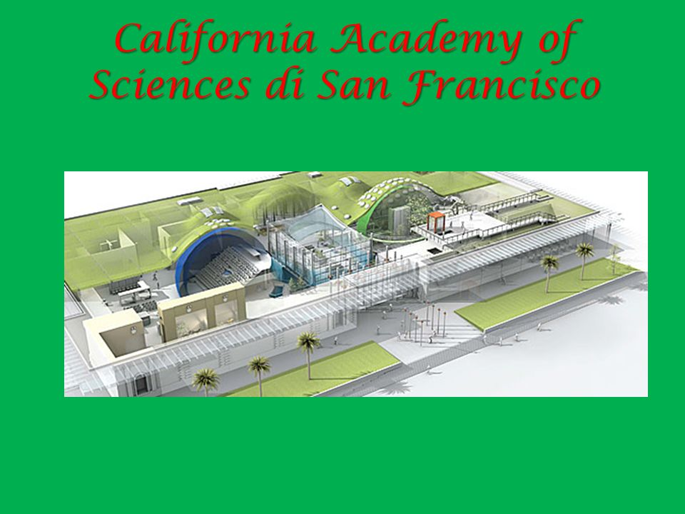 California Academy of Sciences di San Francisco
