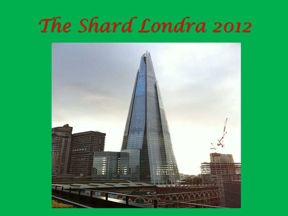 The Shard Londra 2012